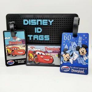 DISNEY •Lot of 3 bag/luggage tags•M&M•Cars•😍